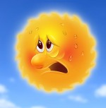 Sweating-sun